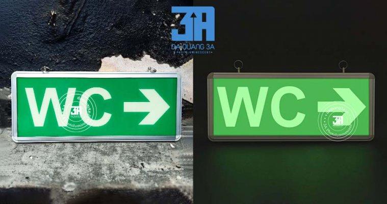 Điểm khác biệt giữa đèn exit dạ quang và đèn exit điện