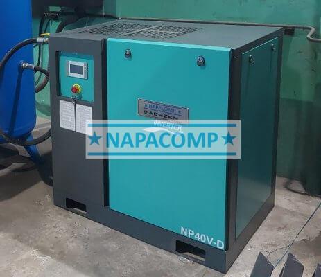 Máy nén khí Napacomp 40HP dùng cho máy laser