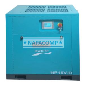 cho thuê máy nén khí Napacomp 20Hp mới