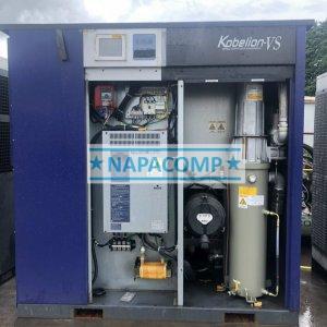 máy nén khí kobelco biến tần đã qua sử dụng